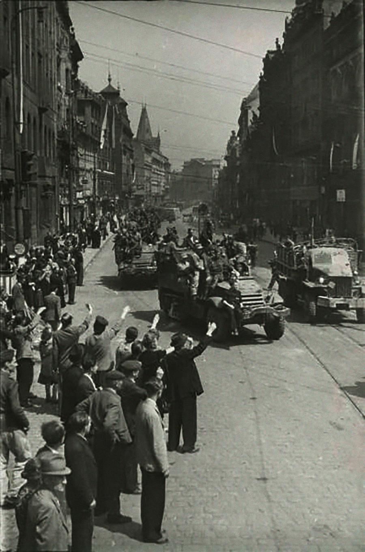 Prag am 9. Mai 1945.