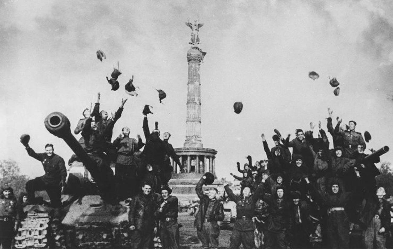 Берлин, 1945.
