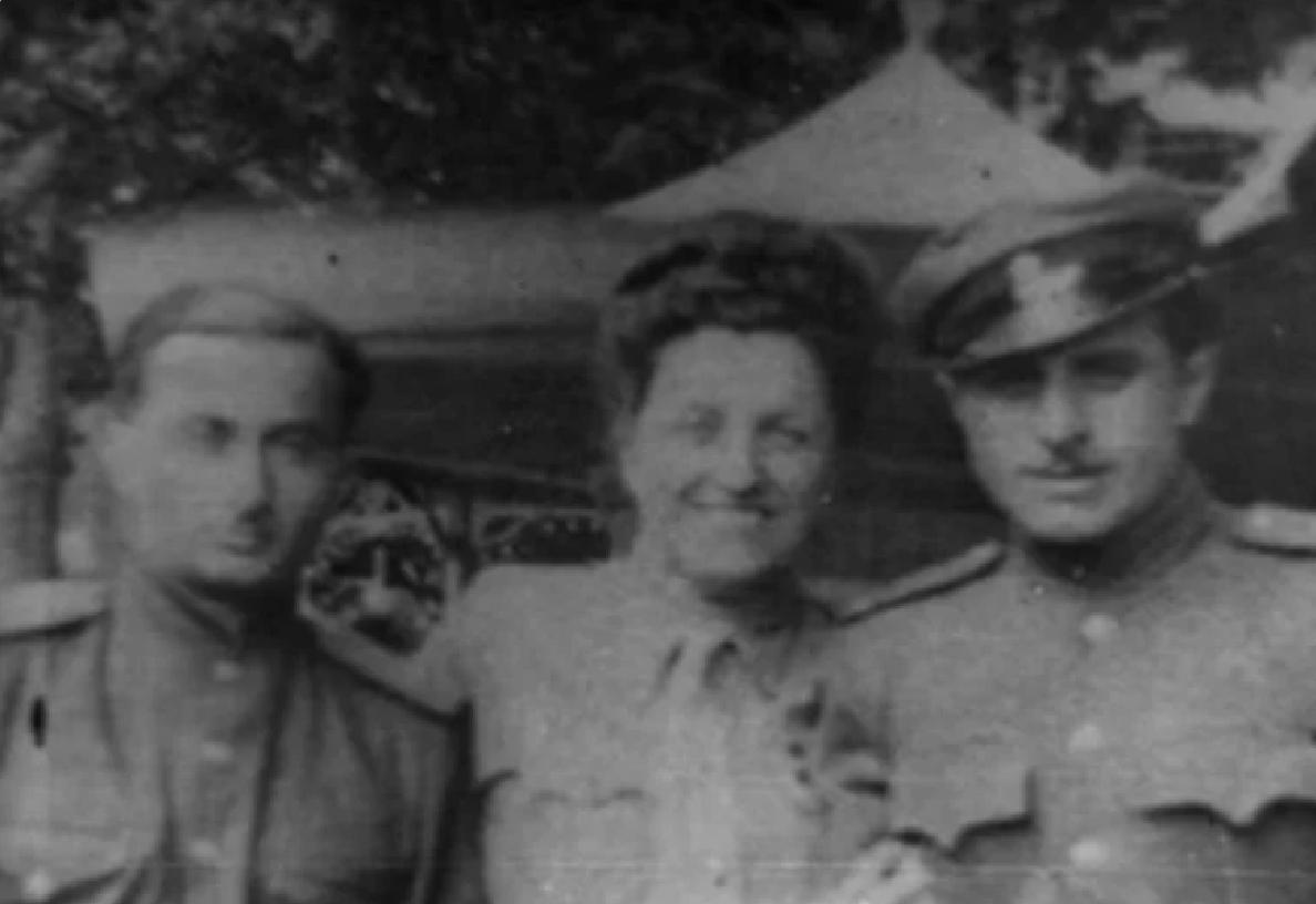 Tamara Volkonskaïa en France, 1945