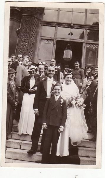 Mariage de Vera et Nikolaï Obolenski à Paris