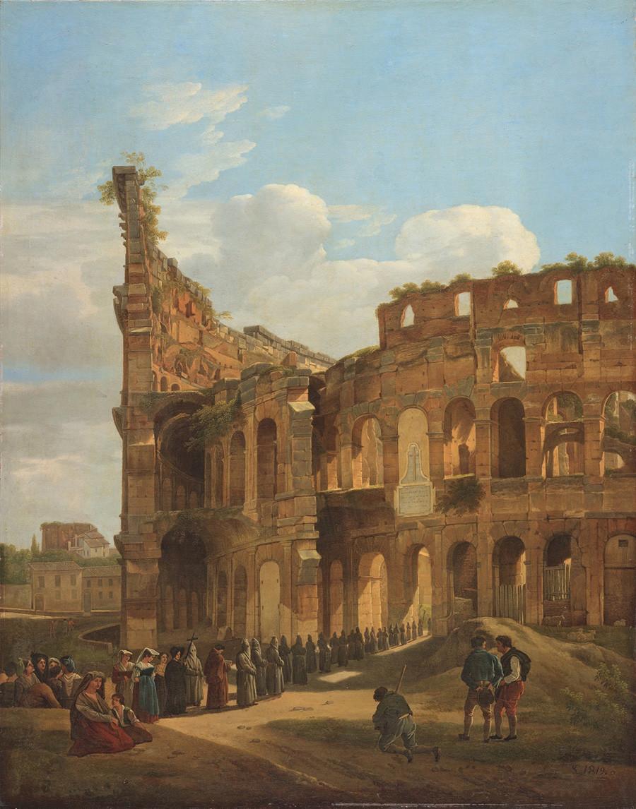 コロッセオ、1819年