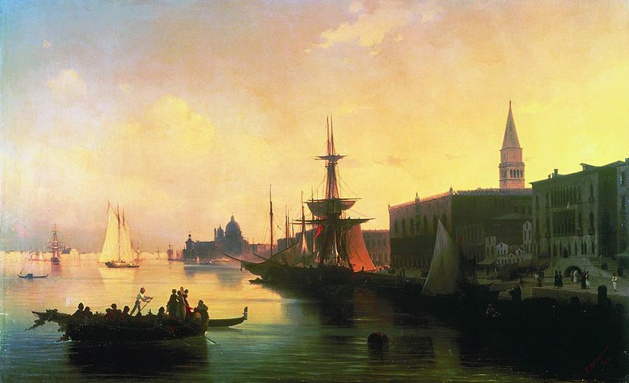 ヴェネツィア、1842年