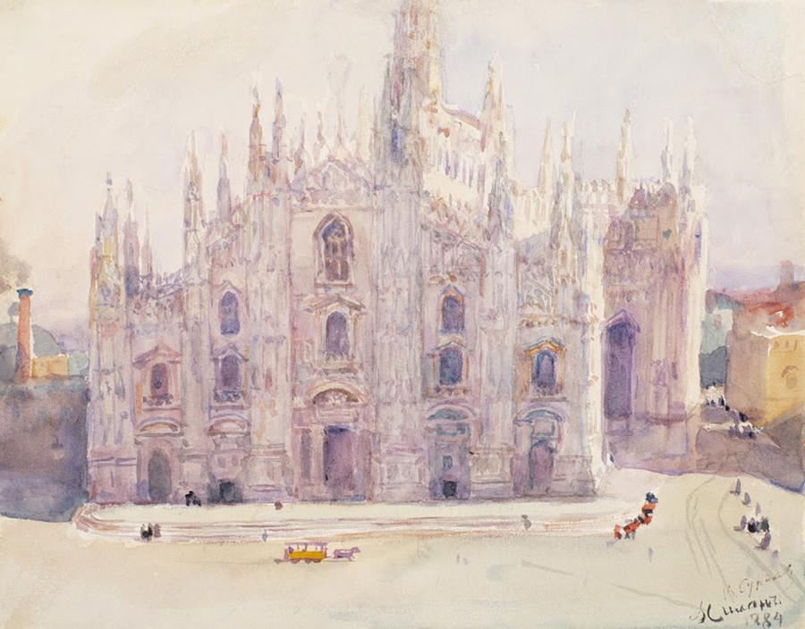 ミラノ、1884年
