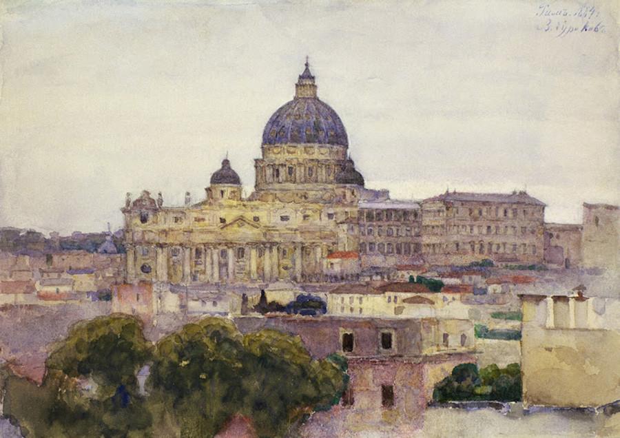 ローマ、1884年