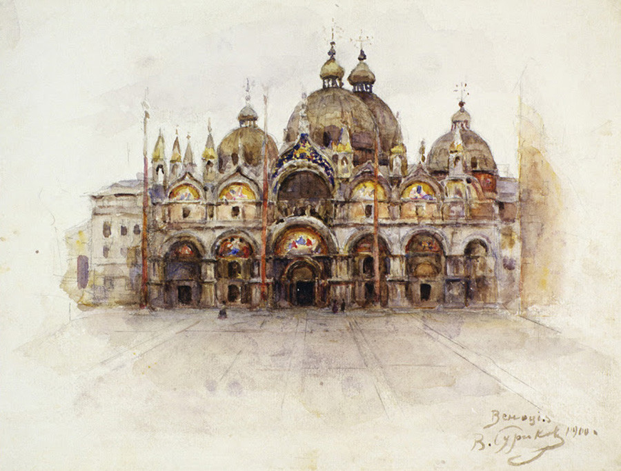 ヴェネツィア、1900年