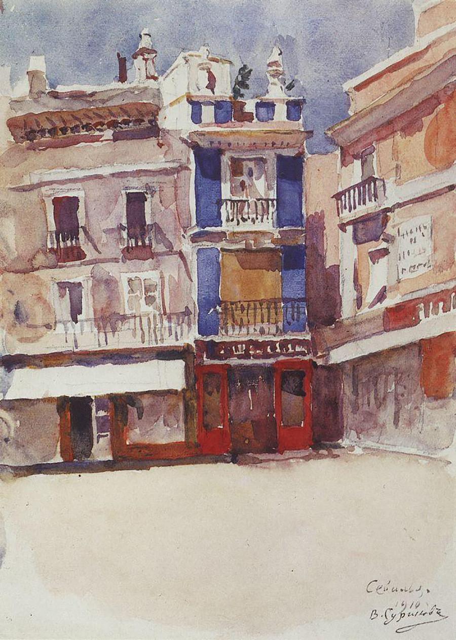 セヴィリア、1910年