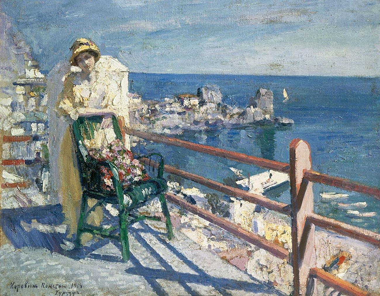 Constantin Korovine. Gourzouf. 1914