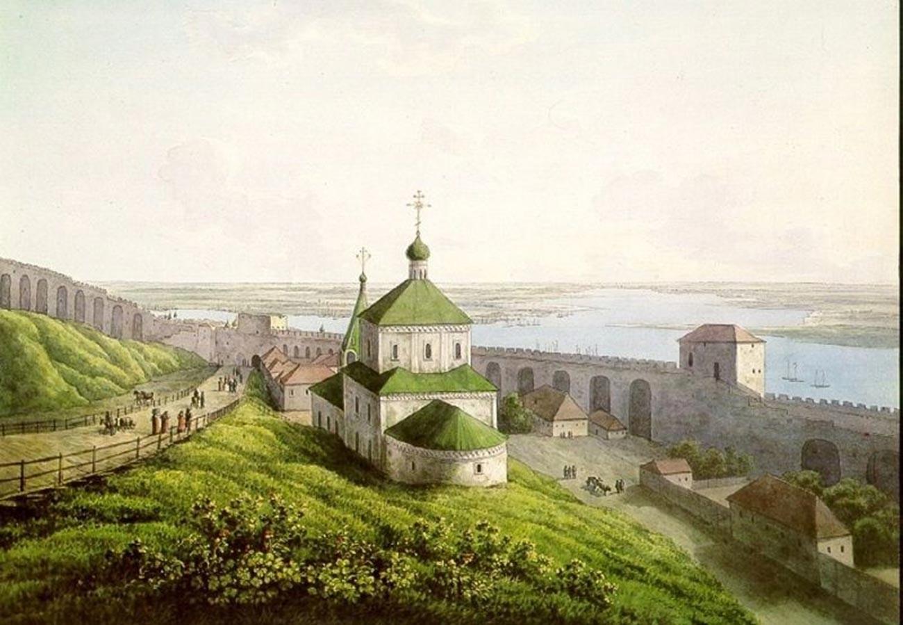 Andreï Martynov. Église Saint-Siméon le Stylite. Kremlin de Nijni Novgorod. 1806
