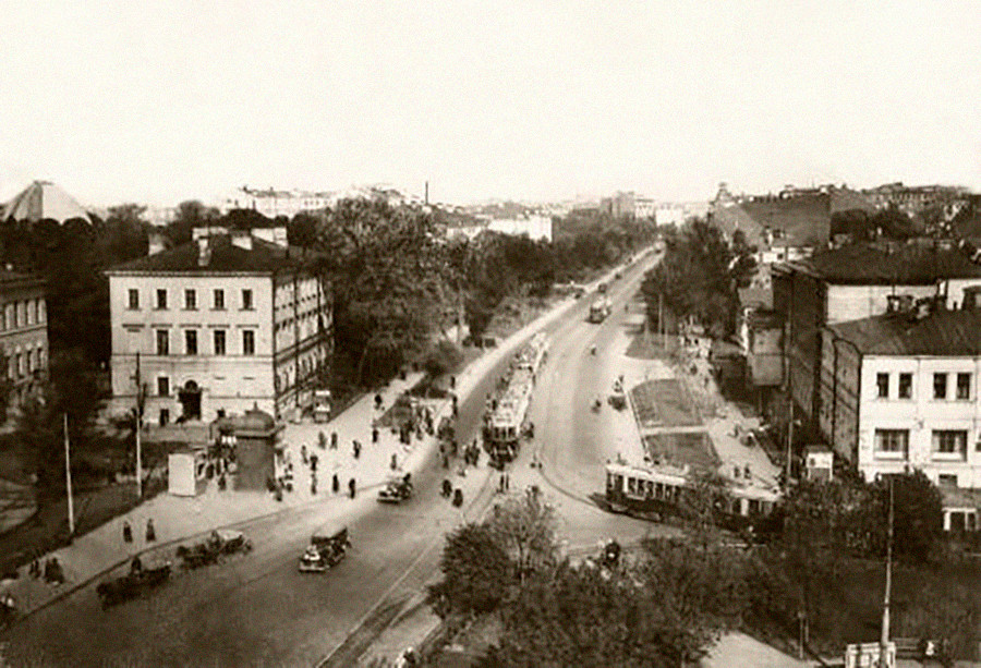 Sadowaja-Kudrinskaja, Gartenring, Moskau, 1928.