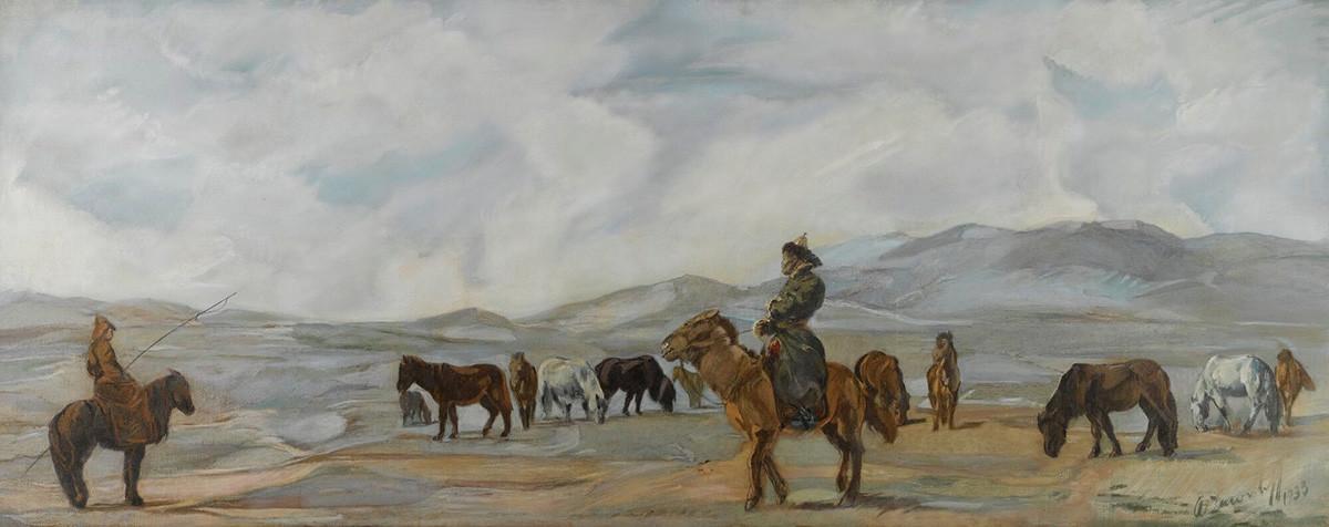 モンゴル人、1933年