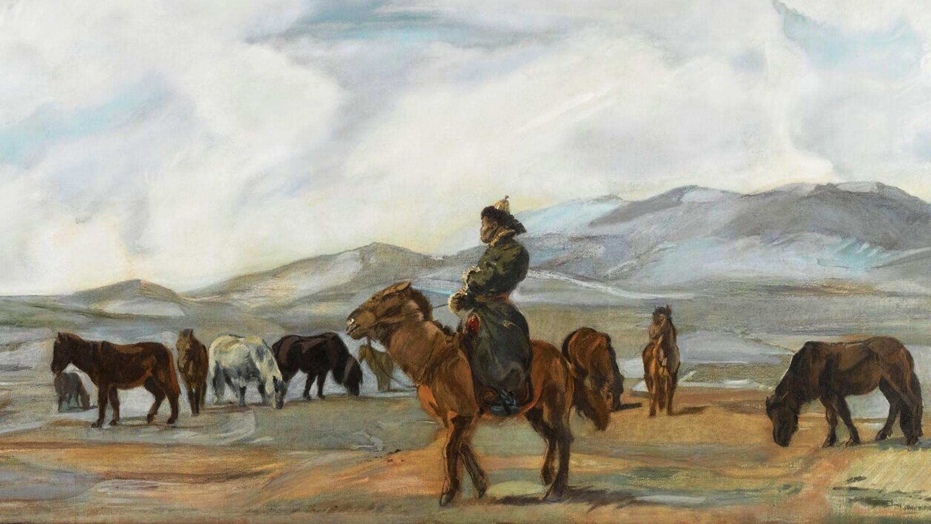 Mongols, 1933