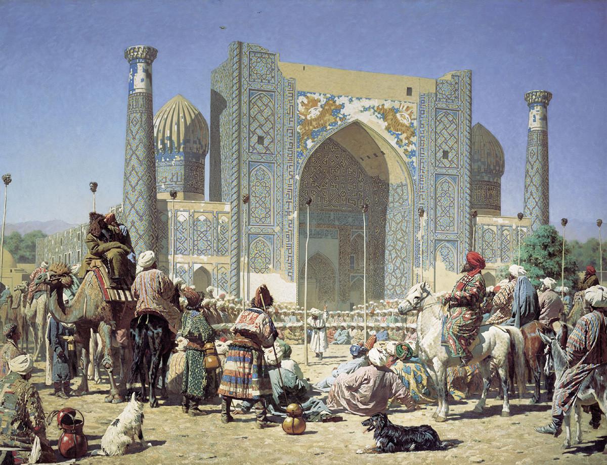 Triomphe, série Barbares, 1872