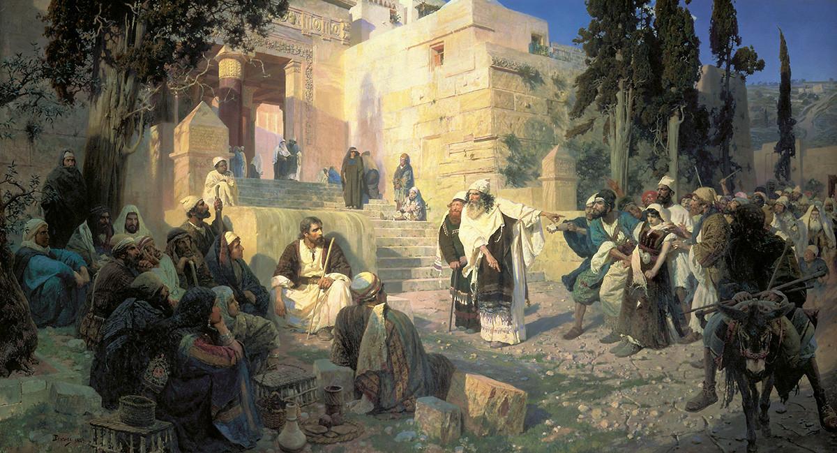 Le Christ et la pécheresse, 1888