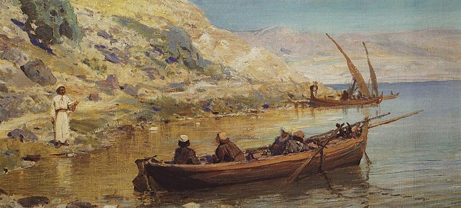 Jacob et Jean, 1890. Série consacrée à la vie du Christ