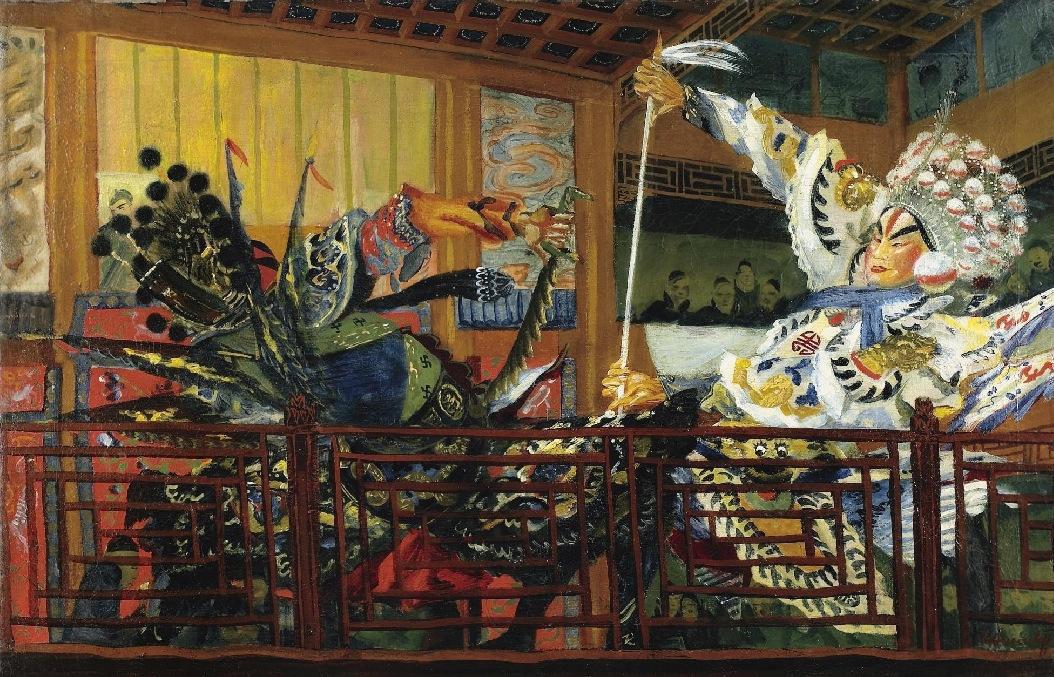 La bataille des guerriers. Théâtre japonais