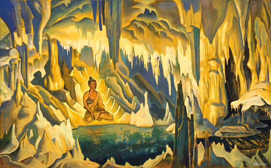 Bouddha vainqueur, 1925