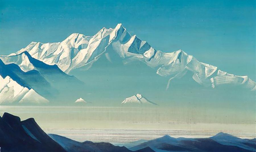 Mont des cinq trésors (Deux mondes), 1933