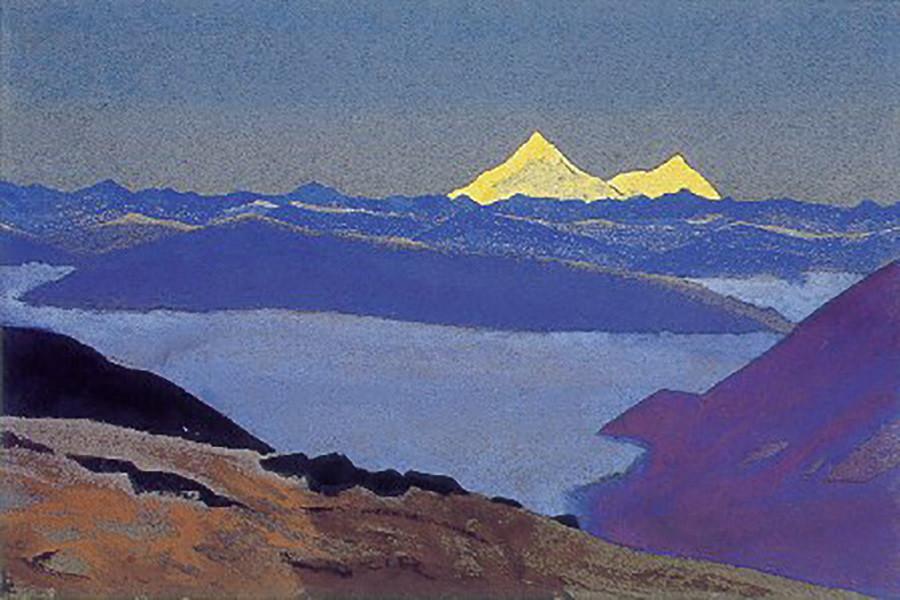 Jelep-La. Frontière du Tibet, 1936