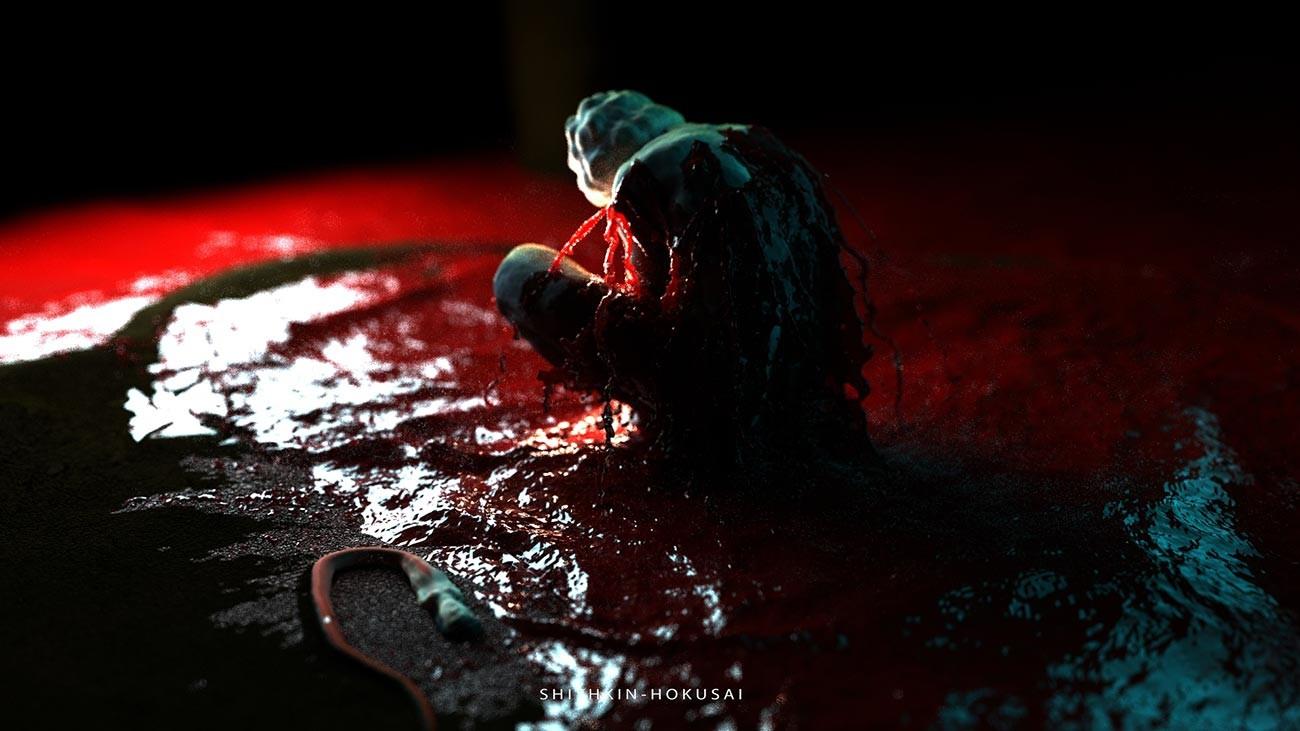 """Dalla serie """"Progetti di fontane di sangue per il Paese dei vampiri"""""""