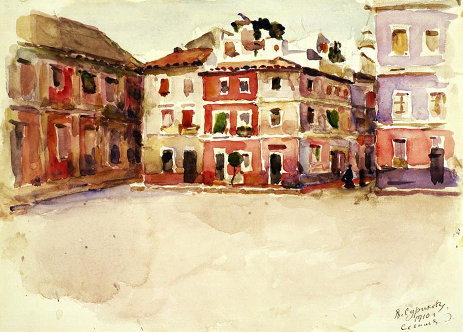Séville, 1910