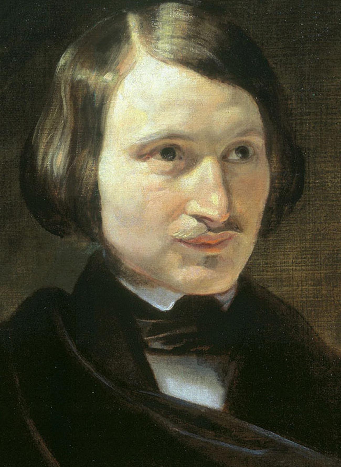 Porträt von Nikolai Gogol von Otto Friedrich Theodor von Möller.