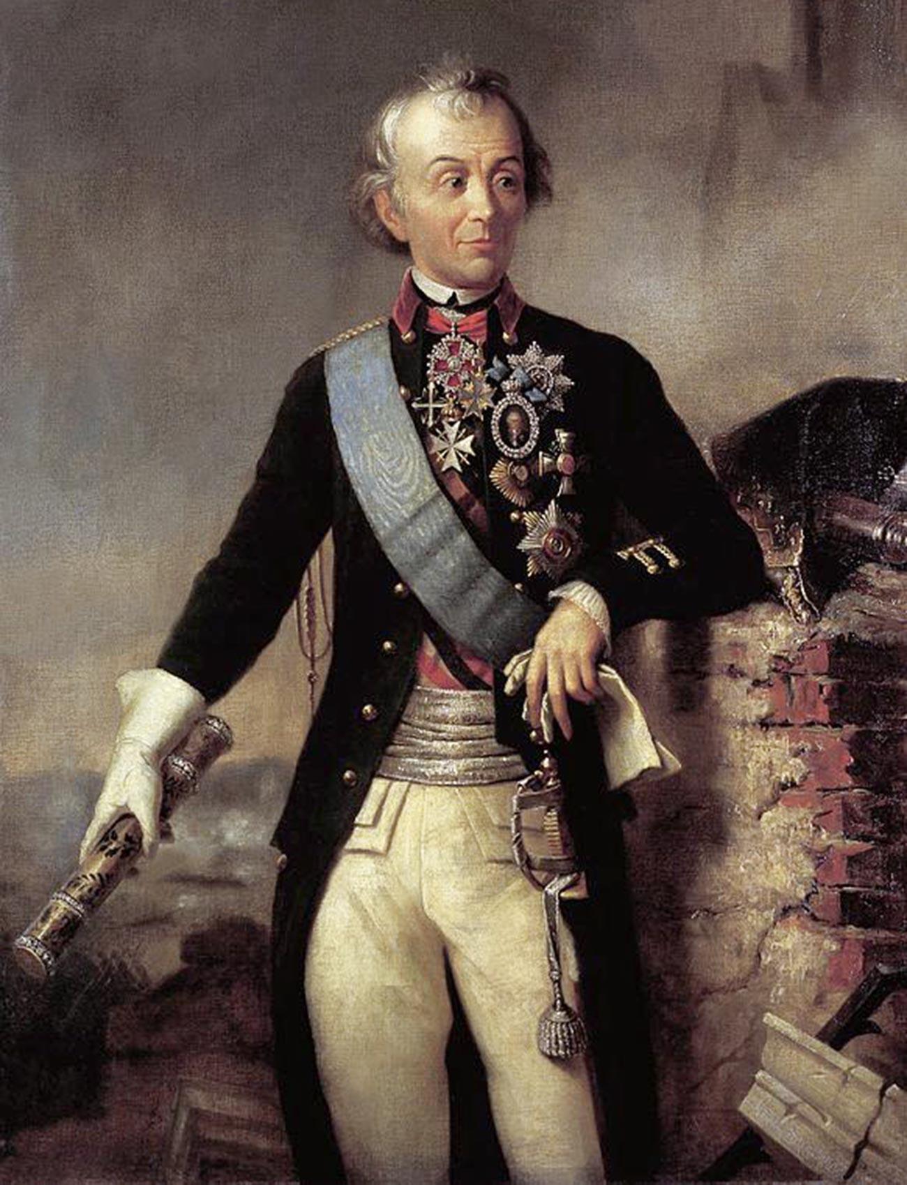 Портрет на А.В. Суворов