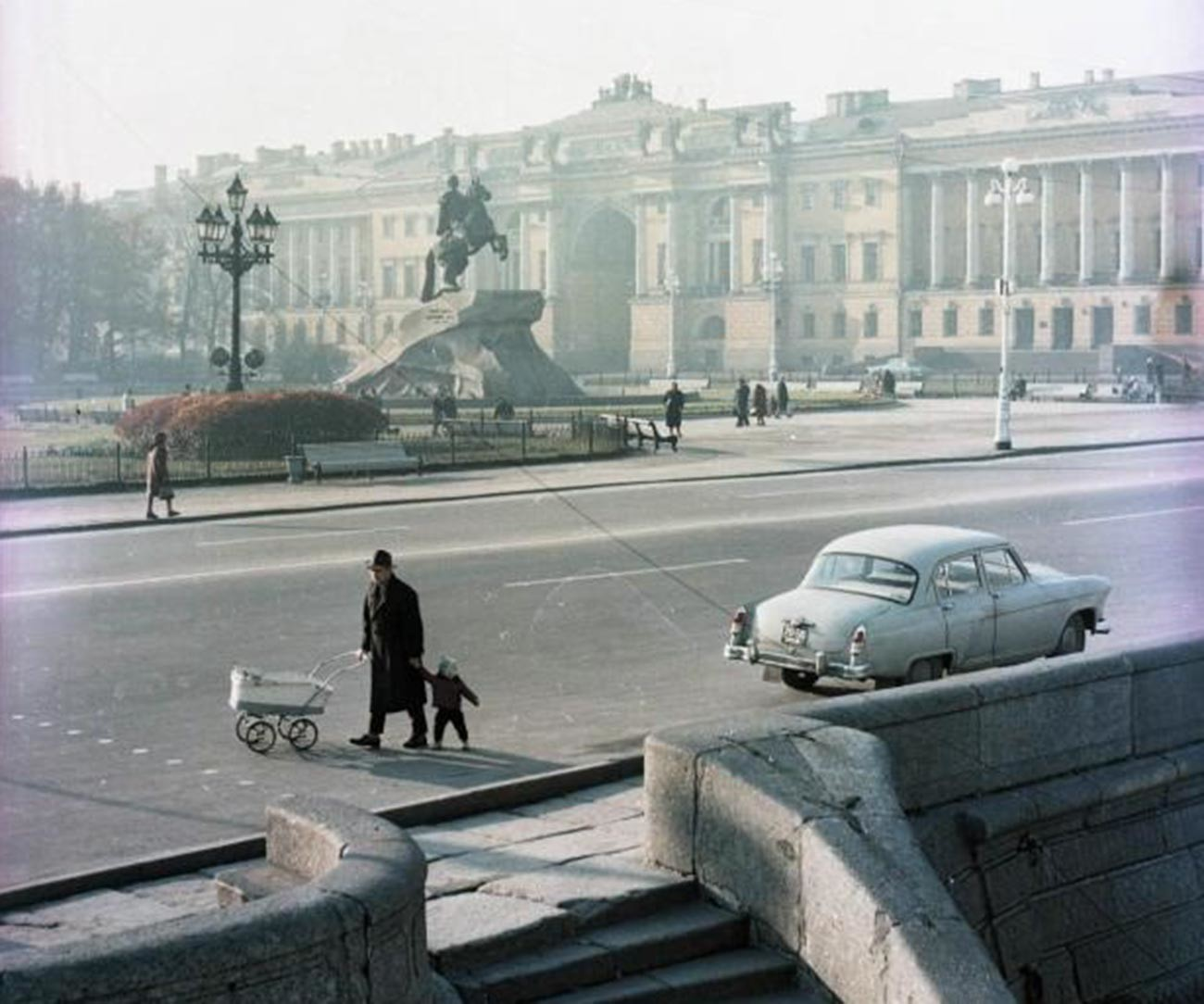 Cavalier de bronze, monument à Pierre le Grand