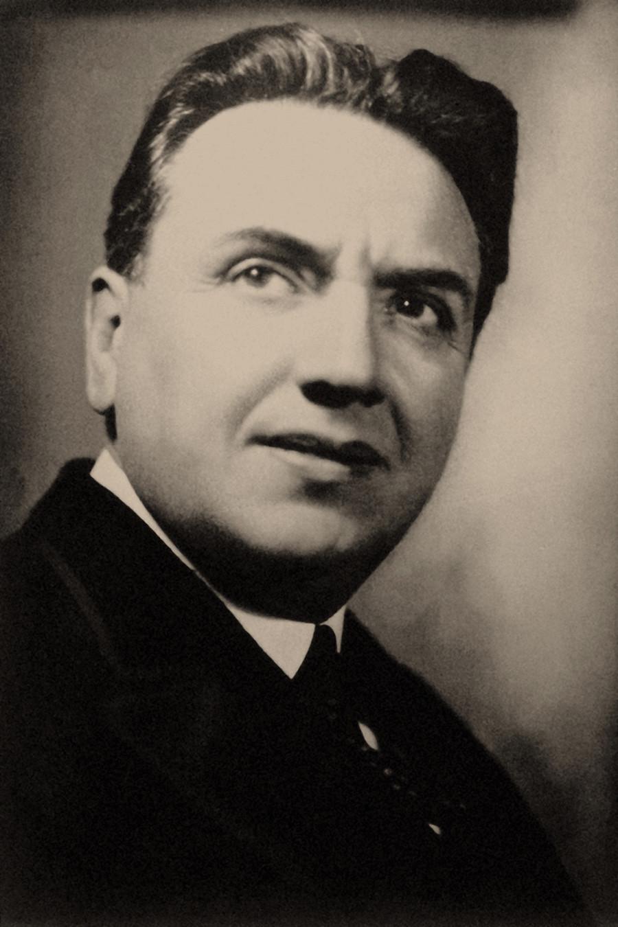 Ernest Beaux (1881-1961) na década de 1920.