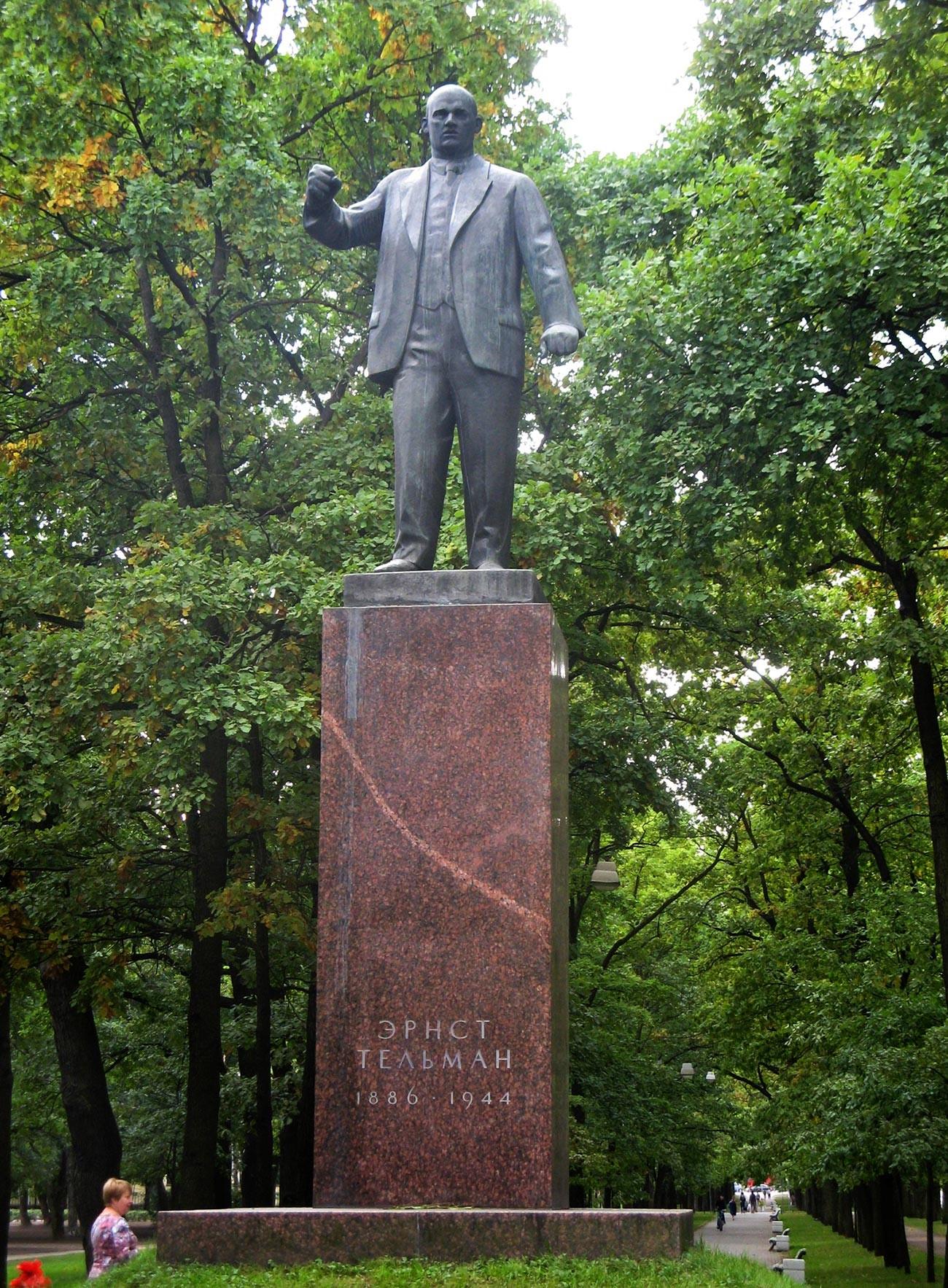 Monument au communiste allemand Ernst Thälmann sur le boulevard Sofiski