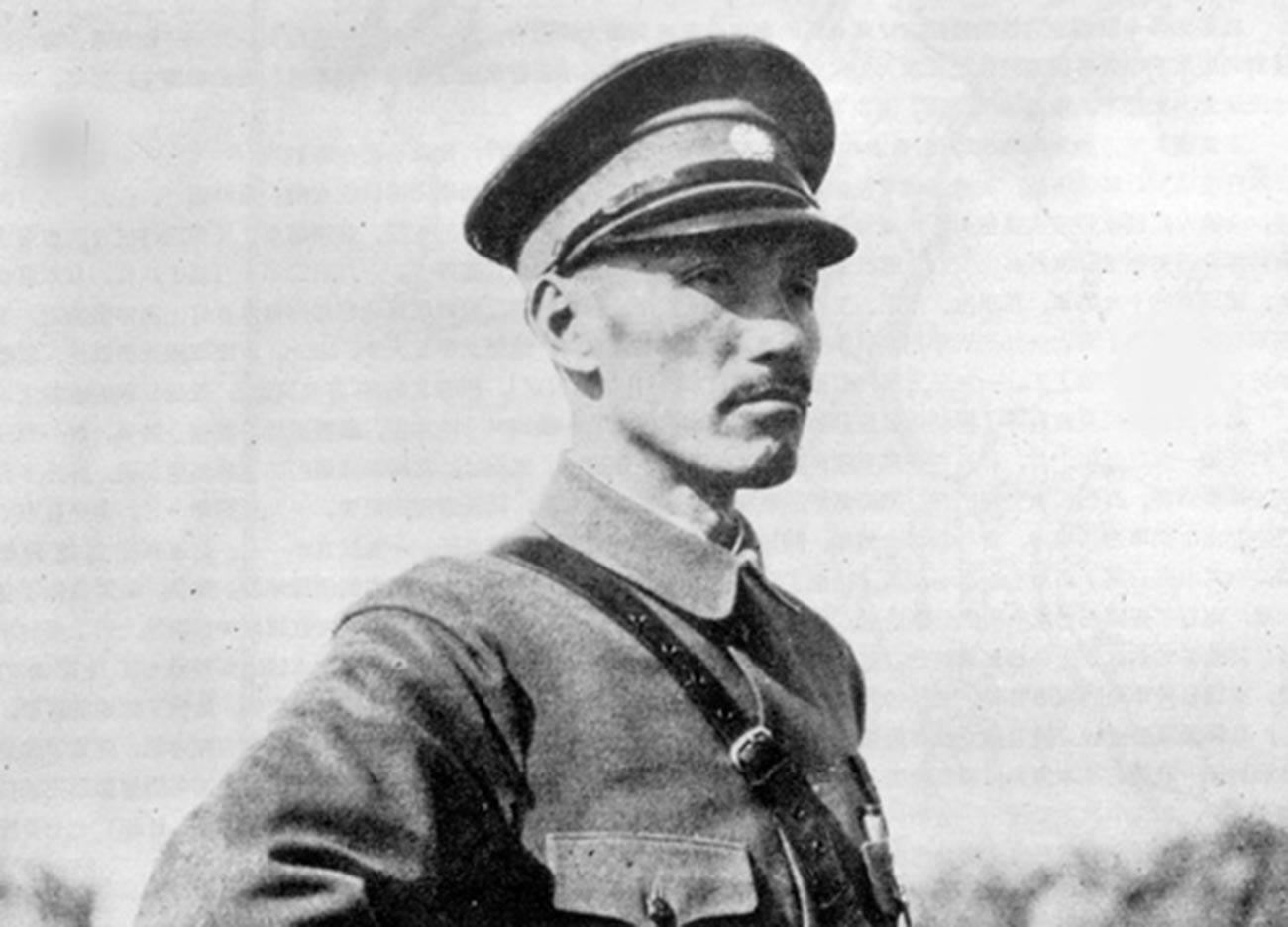 Il generale cinese Chiang Kai-shek