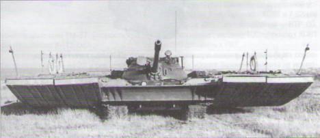 Пловното средство ПСТ-63 со помали модификации е воведено во експлоатација во 1965 година.