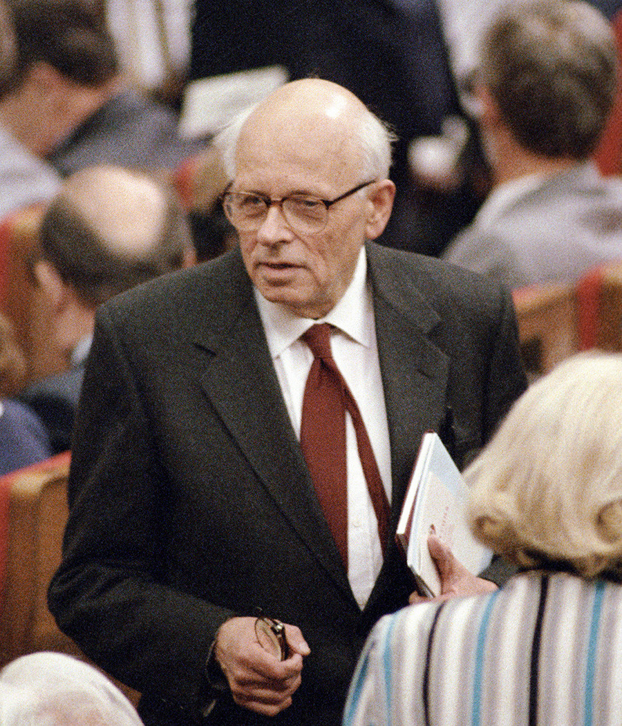 Andrei Sakharov made his reputation as the father of the Soviet hydrogen bomb.