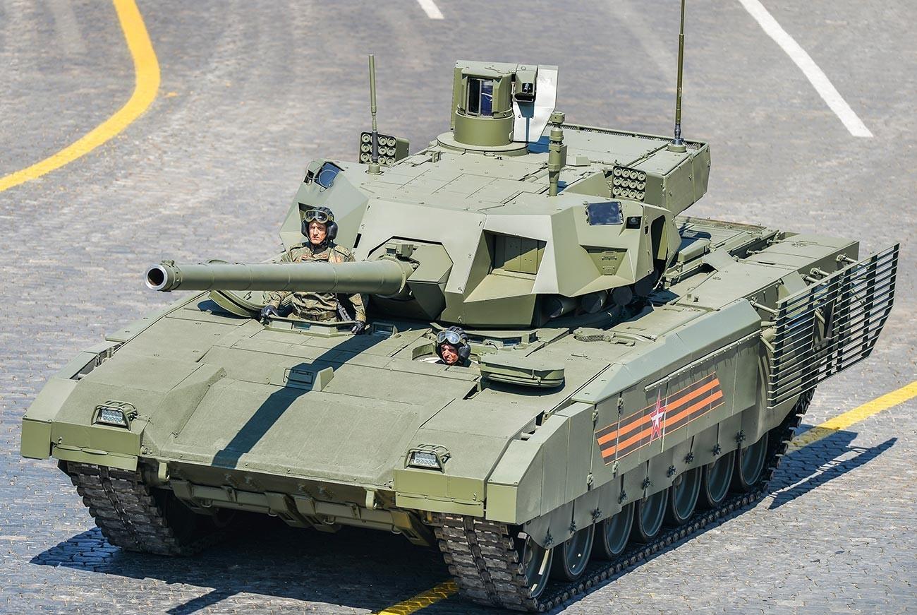 """Тенк Т-14 """"Армата""""."""