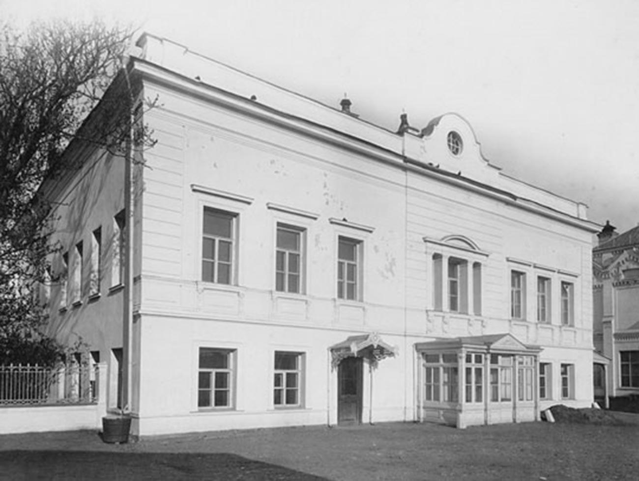 Дом Третьяковых в Лаврушинском переулке