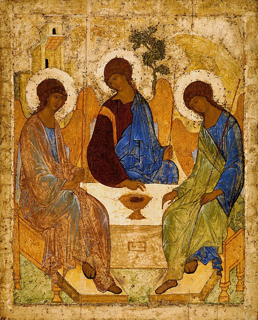 Andreï Roublev, icône de la Trinité – 1411