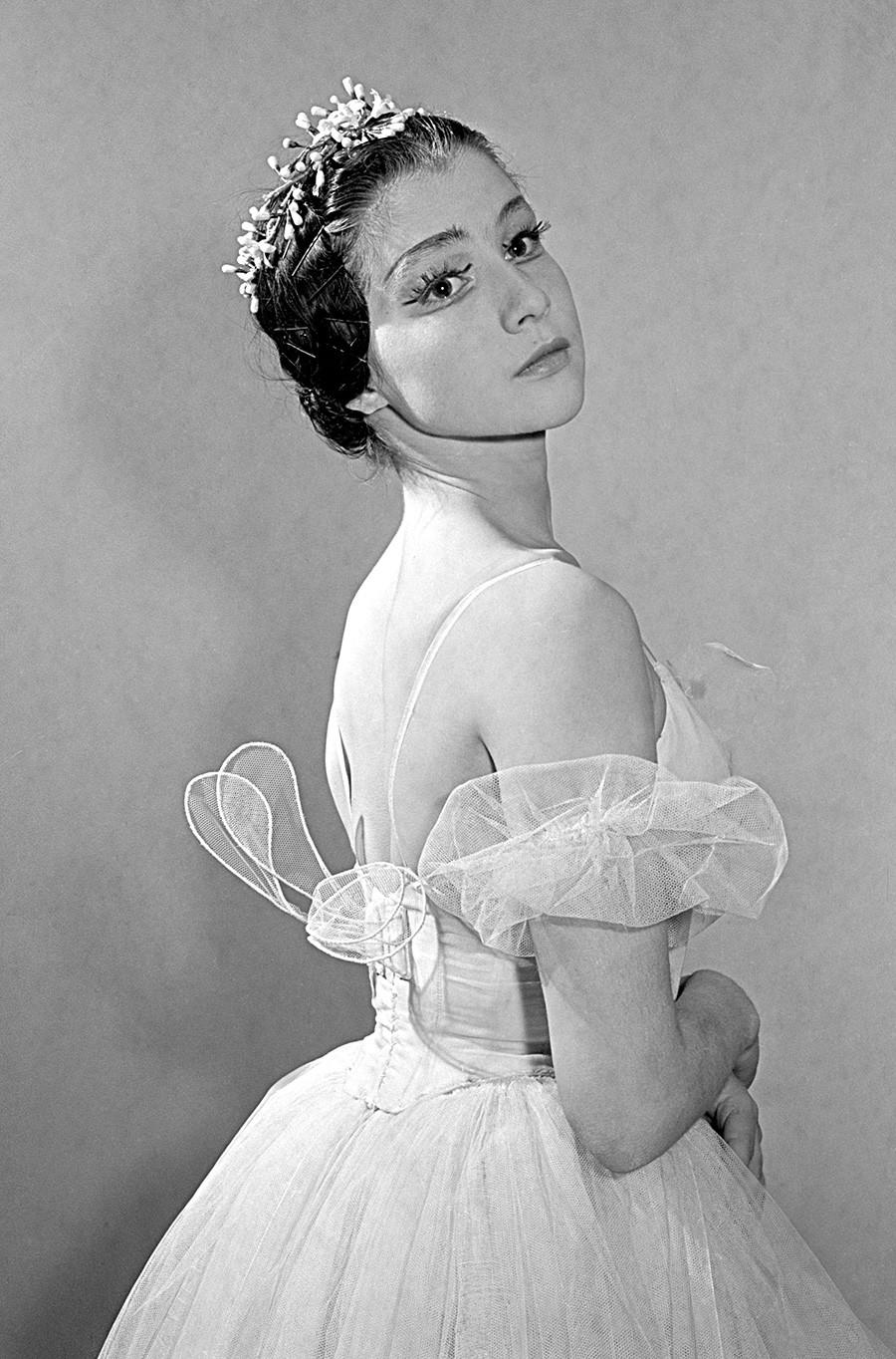 Maxímova en 1961.