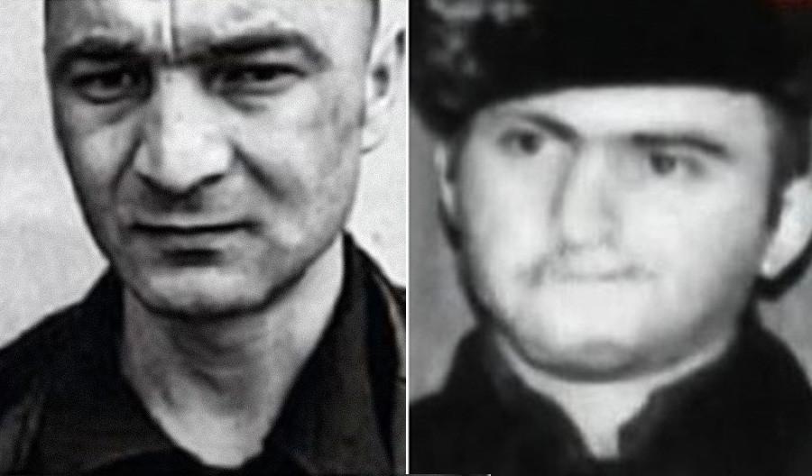 Zafas Bartsis (à gauche) et Khotcheres Kossian (à droite)