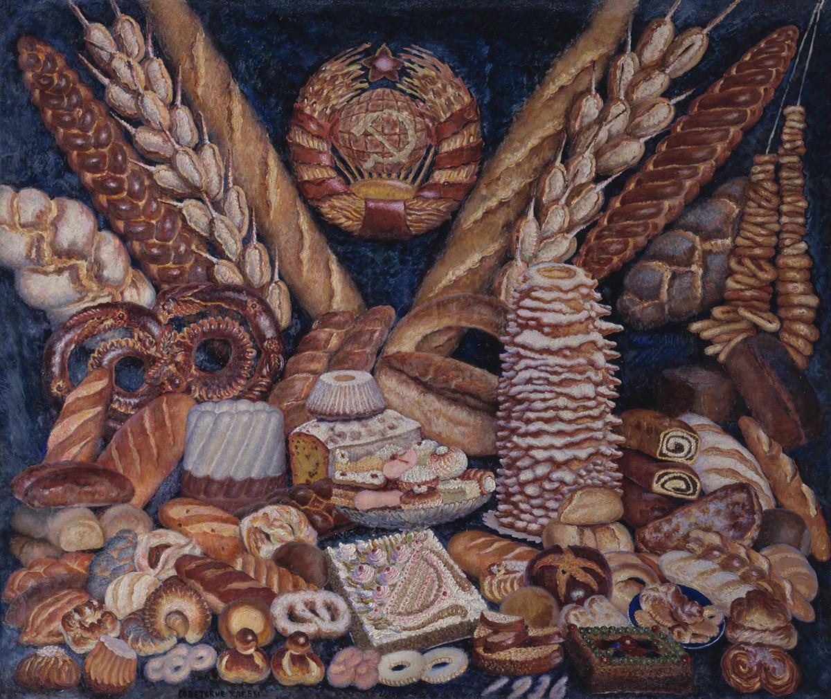 Sowjetische Brote.