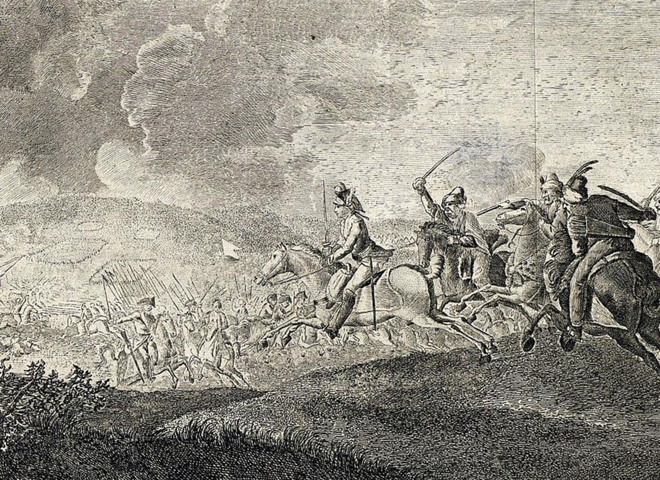 La Battaglia di Kozludzha del 1774