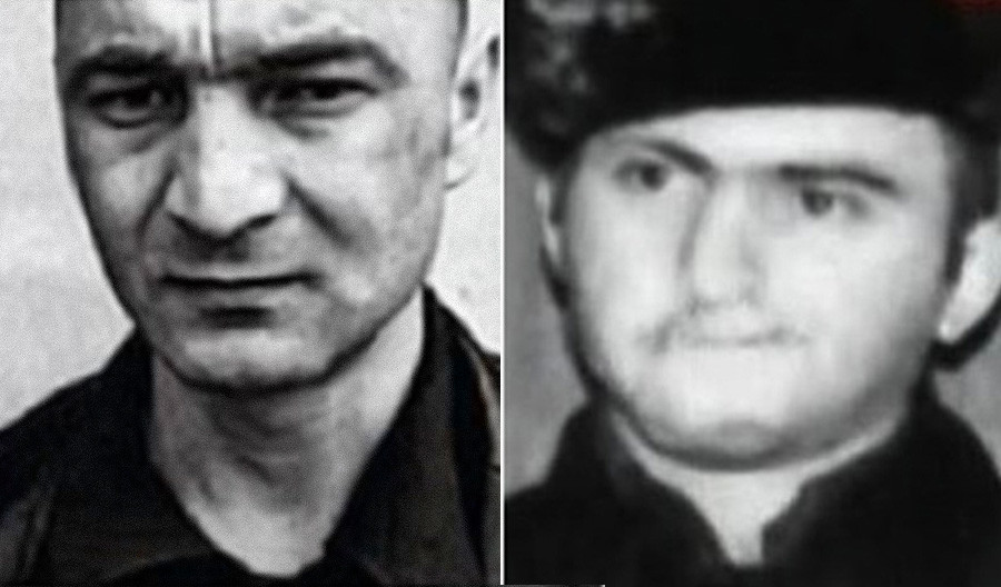 Zafas Bartsis (a sinistra) e Khocheres Kosiyan