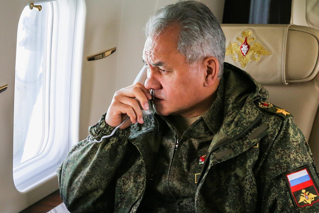 Il ministro russo della Difesa Sergej Shojgu