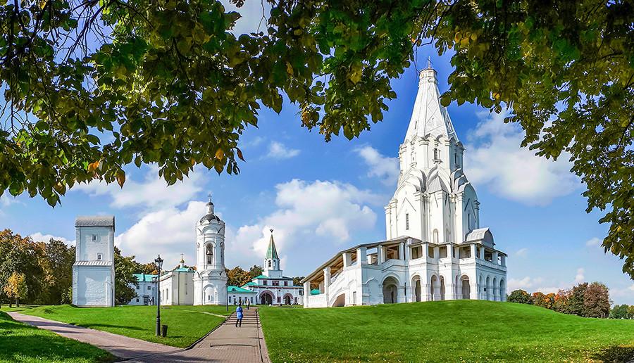 Gereja Kenaikan di Kolomenskoe, Moskow.