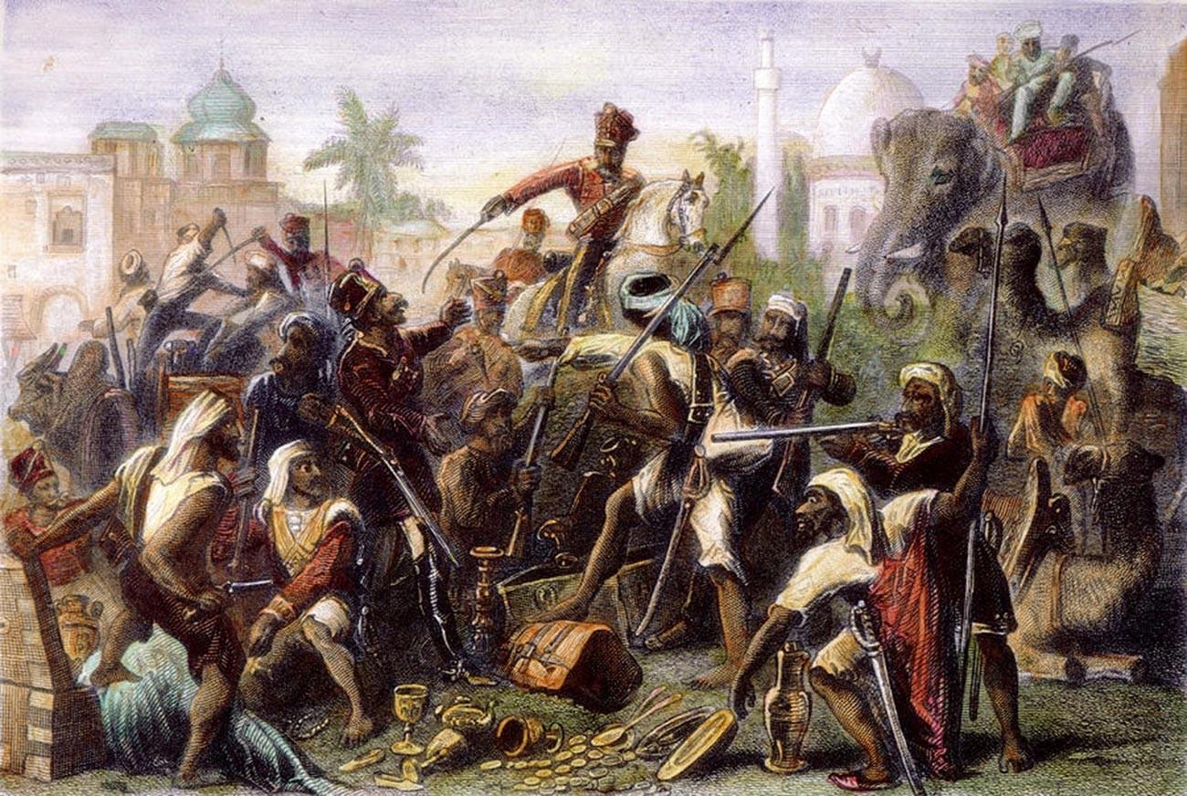 La rivolta dei Sepoy, 1857