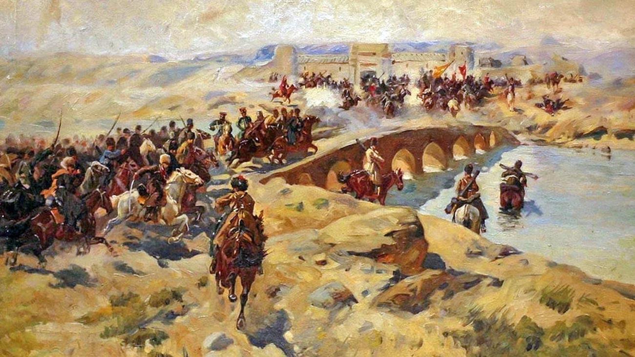 Gli scontri a Kushka
