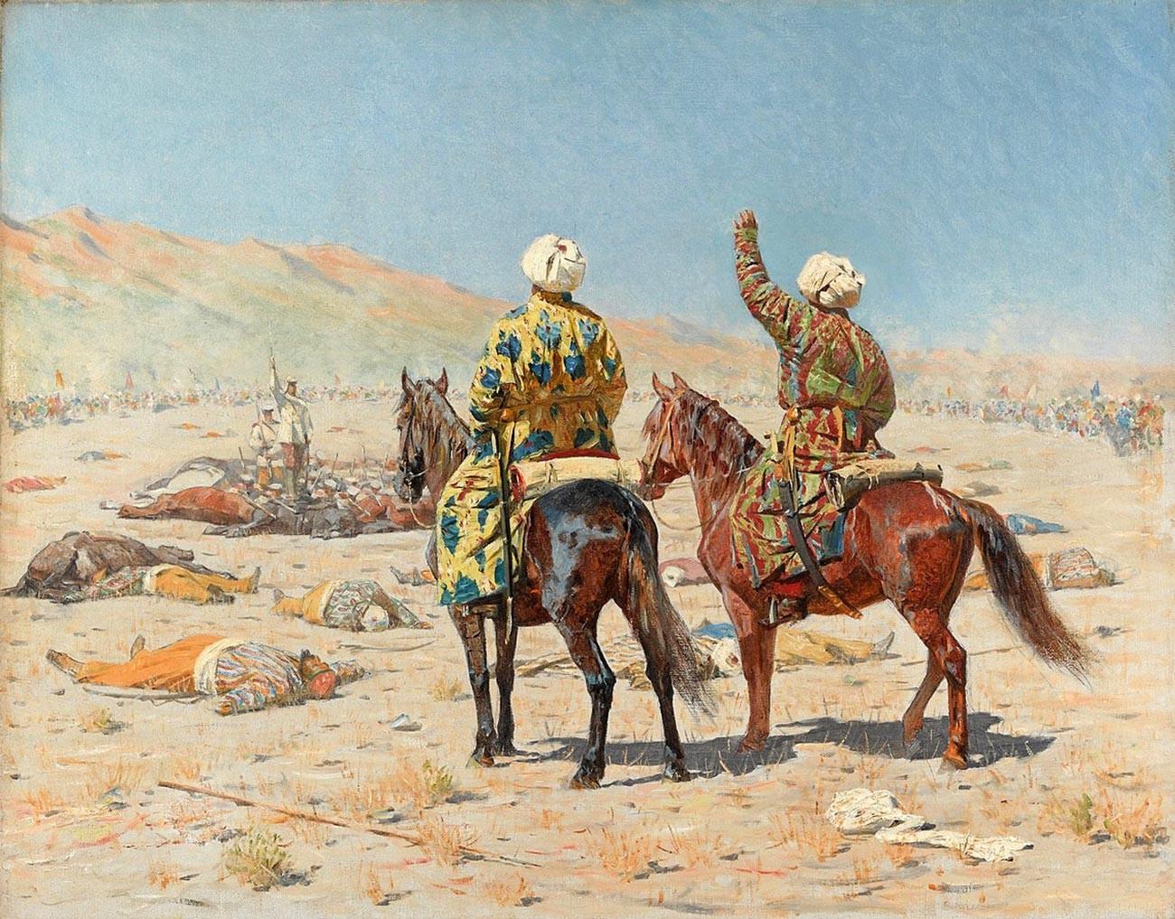 「戦争について」トルキスタンのシリーズ
