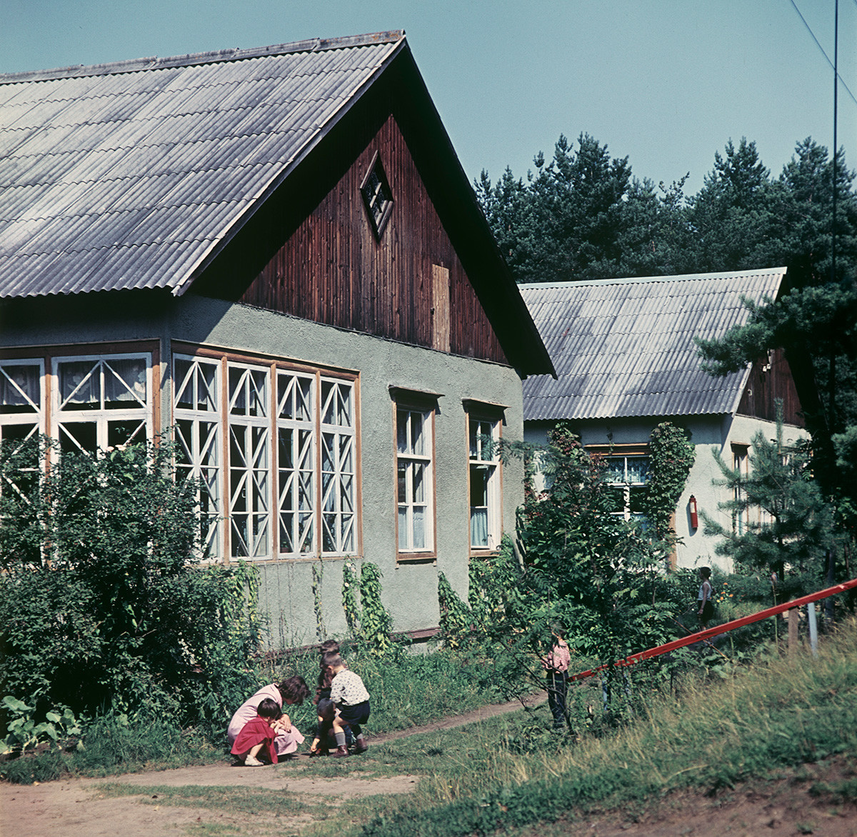 Dachas outside Moscow