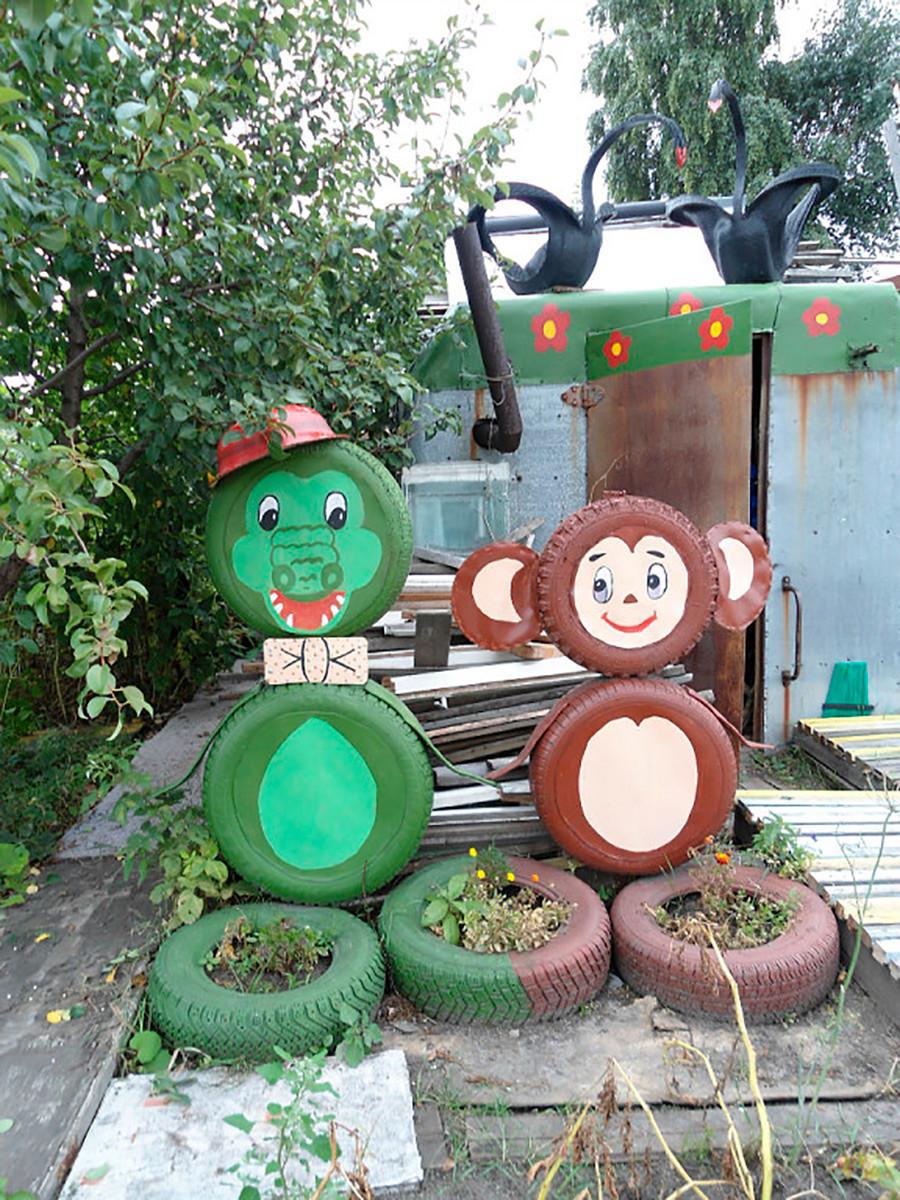 Dacha garden art