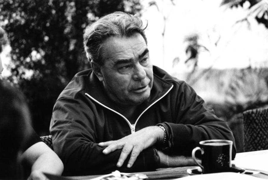Leonid Breschnew auf seiner Datscha.