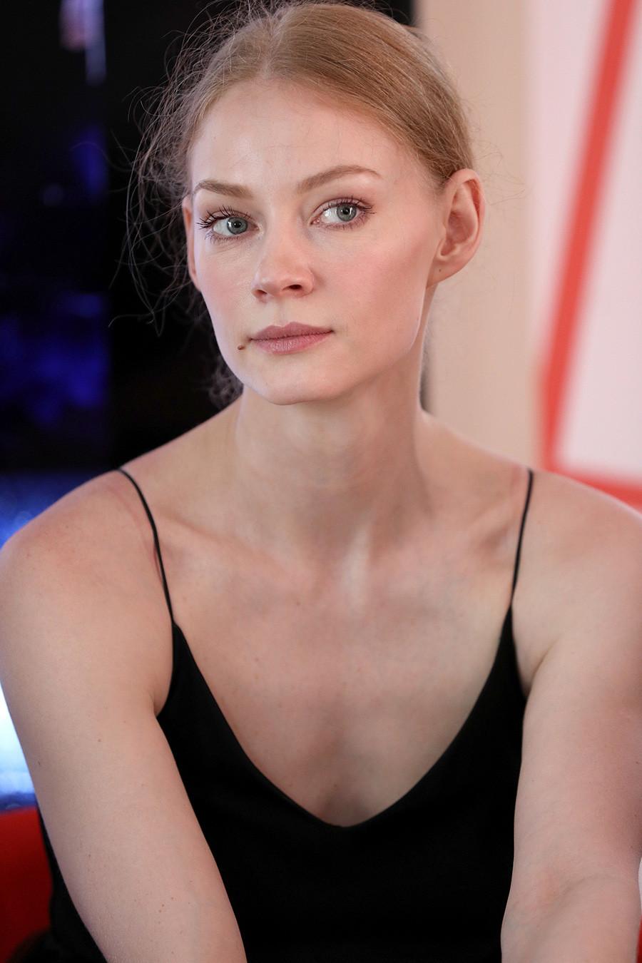Актрисата Светлана Ходченкова присъства на откриването на руския павилион