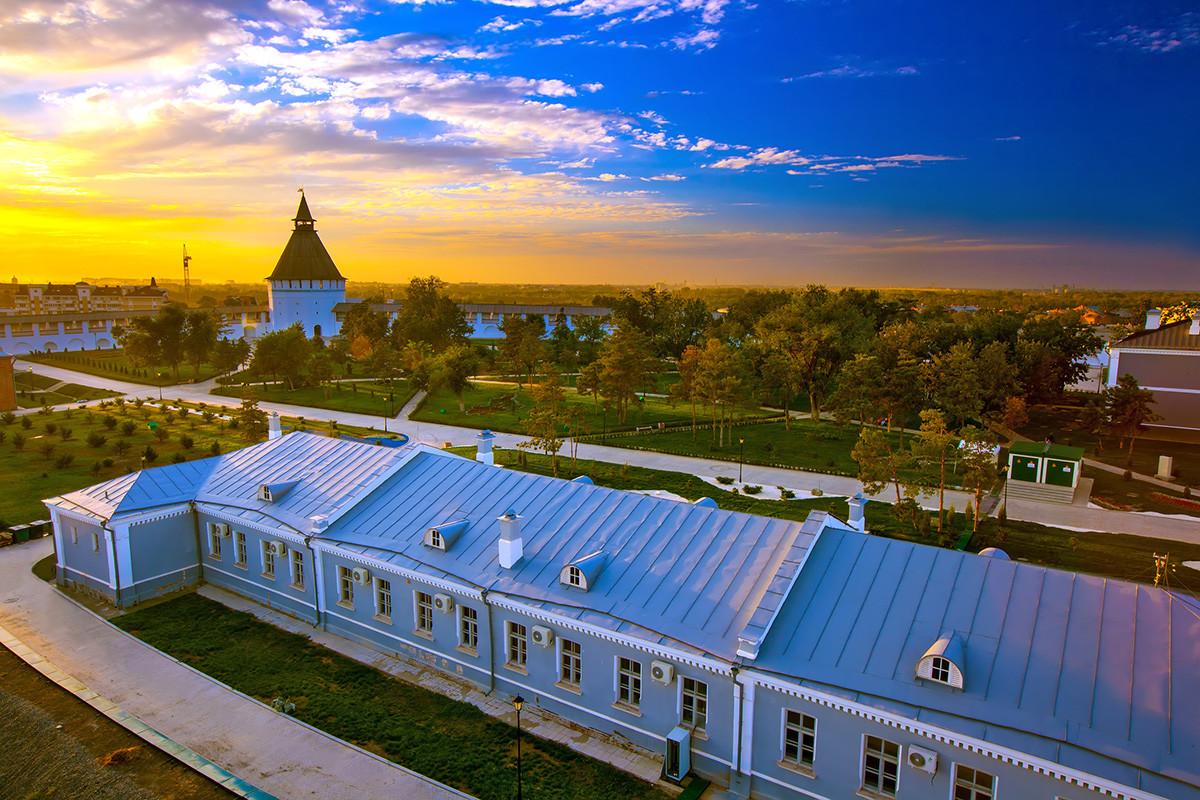 Astrahanjski kremlj, povijesno-arhitektonski kompleks, Rusija.